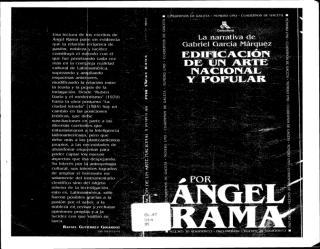 1991 - García Marquez, edificación de un Arte Nacional.PDF
