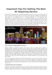 Important Tips For Getting The Best AC Repairing Service.pdf
