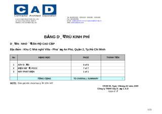 Du tru kinh phi nha o can ho cao cap RTBD 2 (ok 26-02-09).xls