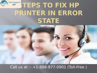 Steps To Fix HP Printer In Error State ppt.pptx