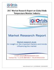 2017 Market Research Report on Global Body Temperature Monitor Industry.pdf