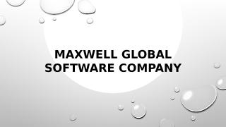Maxwell Global Software Company.pptx