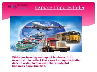 Exports Imports India.pptx