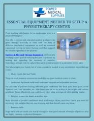 ESSENTIAL EQUIPMENT NEEDED TO SETUP A PHYSIOTHERAPY CENTER.pdf