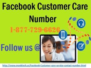 Disposing Of Worries @ Facebook Customer Care Number 1-877-729-6626.pptx