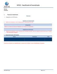MIT023 - Especificação de Parametrização.docx