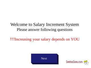 Salary Increment System.pps