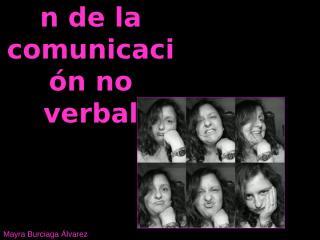 Clasificación de la comunicación no verbal terminada.ppt