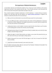 The Importance of Website Maintenance.pdf