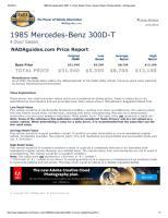 1985 Mercedes-Benz 300D-T 4 Door Sedan Prices, Values & Specs Window Sticker - NADAguides.pdf