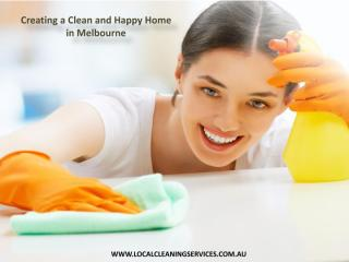 Creating a Clean and Happy Home in Melbourne.pdf