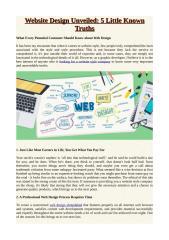 Website Design Unveiled_ 5 Little Known Truths.pdf